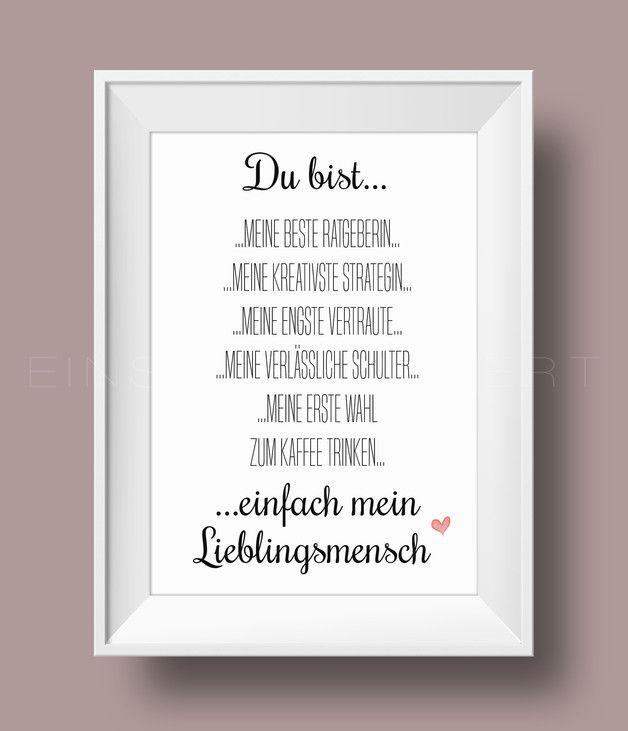 Poster mit rahmen f r die k che poster mit rot daneben for Diy geschenke fa r beste freundin
