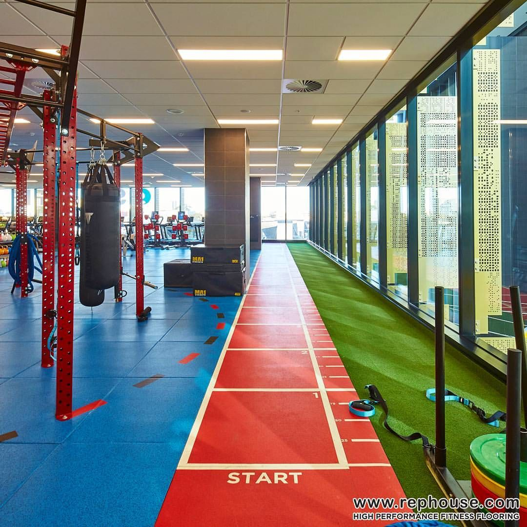 Just Start! Neoflex High Performance Fitness Flooring at