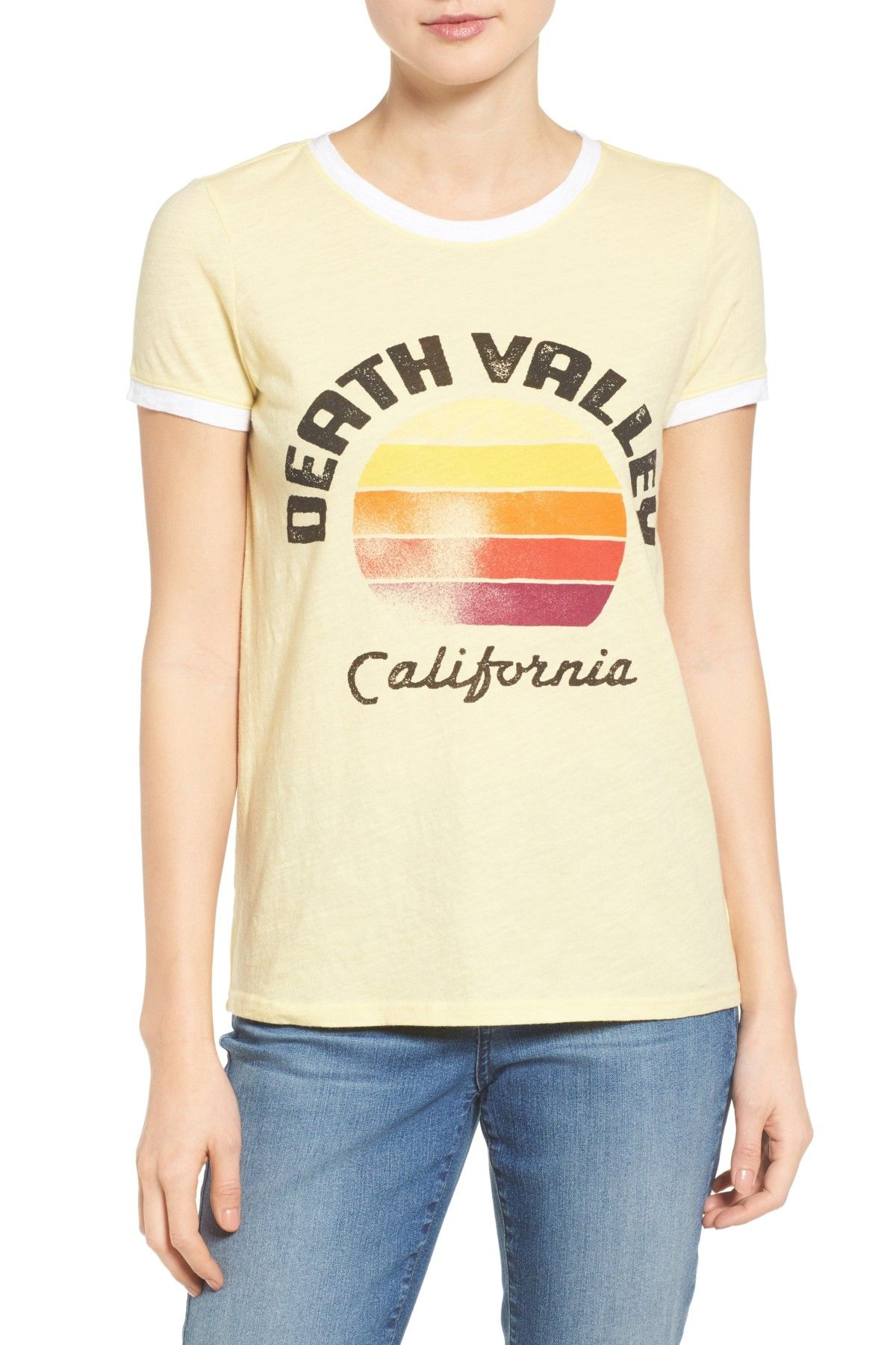 Death Valley Graphic Ringer Tee