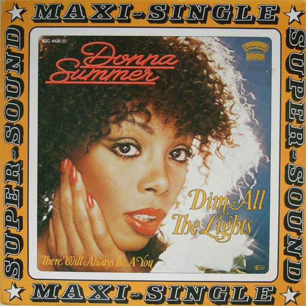Donna Summer - Dim All The Lights, 12-inch release