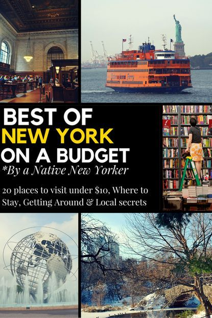 Best Of New York On A Budget By Native Yorker Wanderingk Written