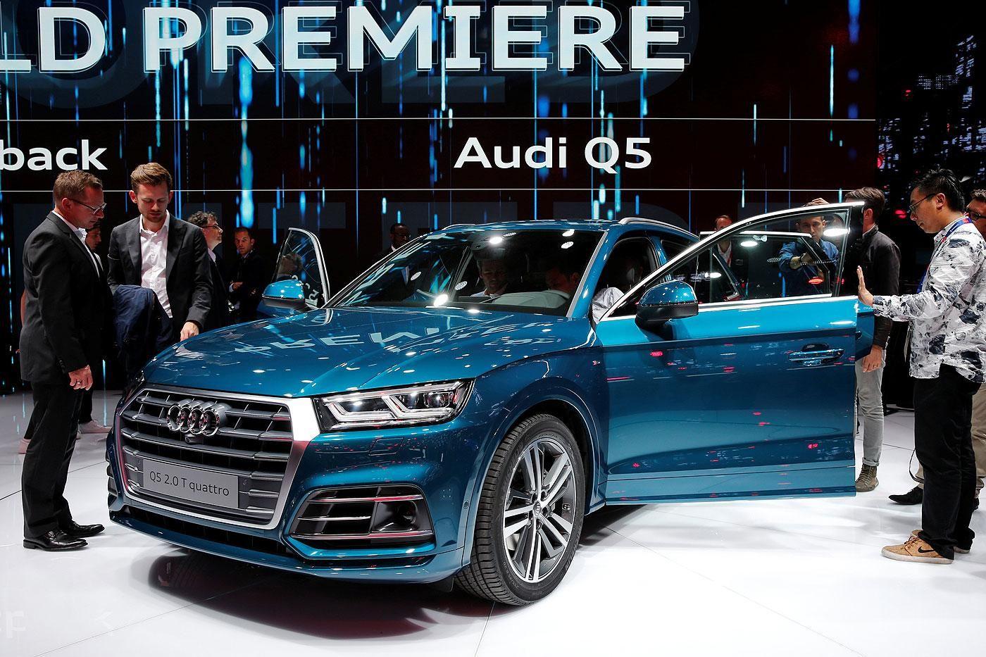 Audi Q5 gains size, power | https://goo.gl/2pBdgb