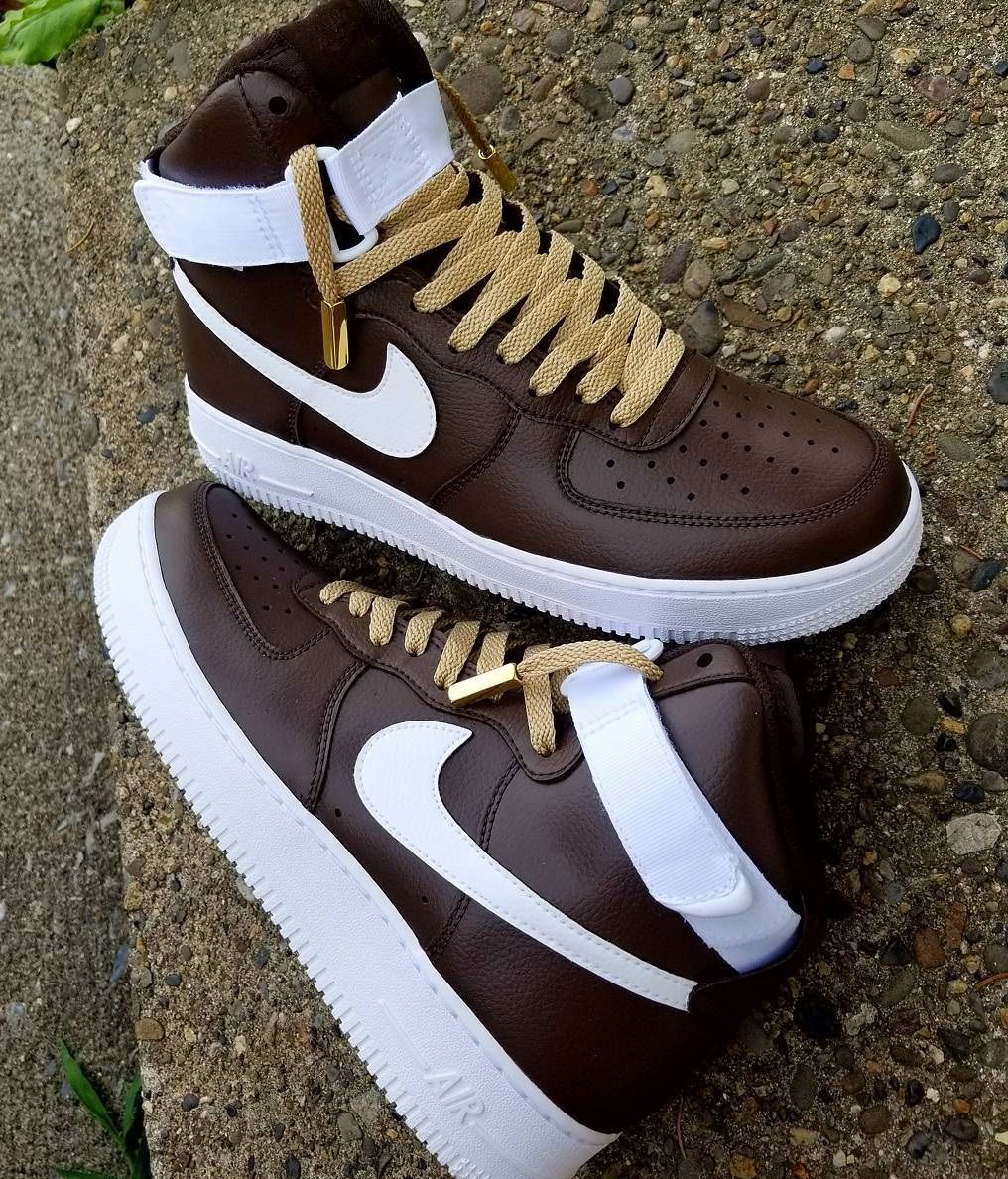 6ad51cf38d8 Nike Air Force 1 High Custom | Sneakers shoes and boots | Sneakers ...
