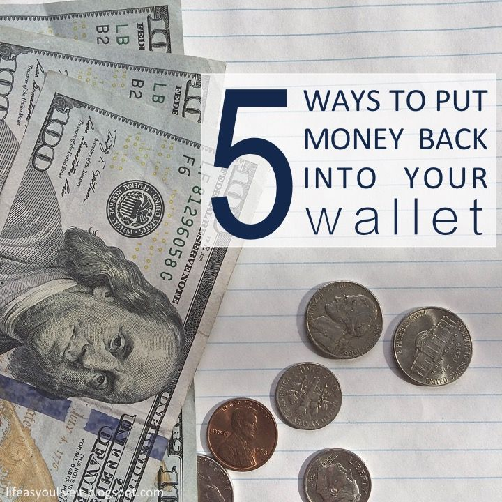 5 simple ways to put money back into your wallet paypal