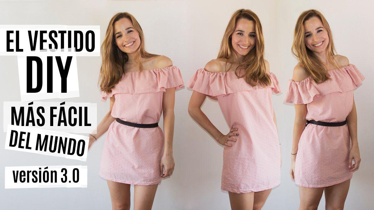 El vestido DIY más fácil del mundo | Versión 3.0 | Patterns ...
