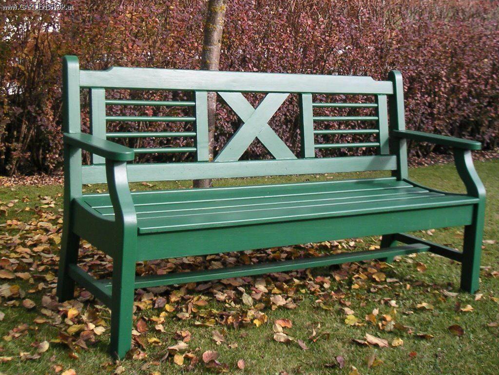 Gartenbank Grun Holz Massiv 2 Sitzer Gartenbank Gartenbank Holz Teakholz Gartenbank