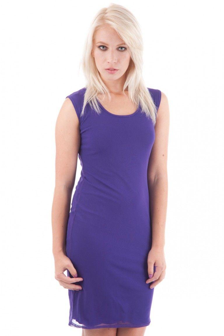 Classic Sleeveless Bodycon Midi Dress | Dress | Pinterest