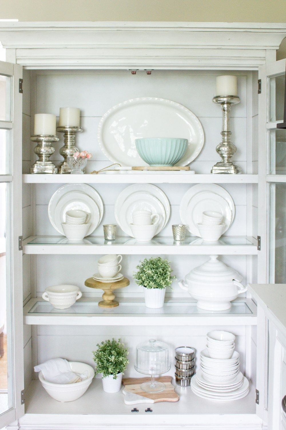 Farmhouse Home How To Style A China Cabinet Making It In The Mountains Decor