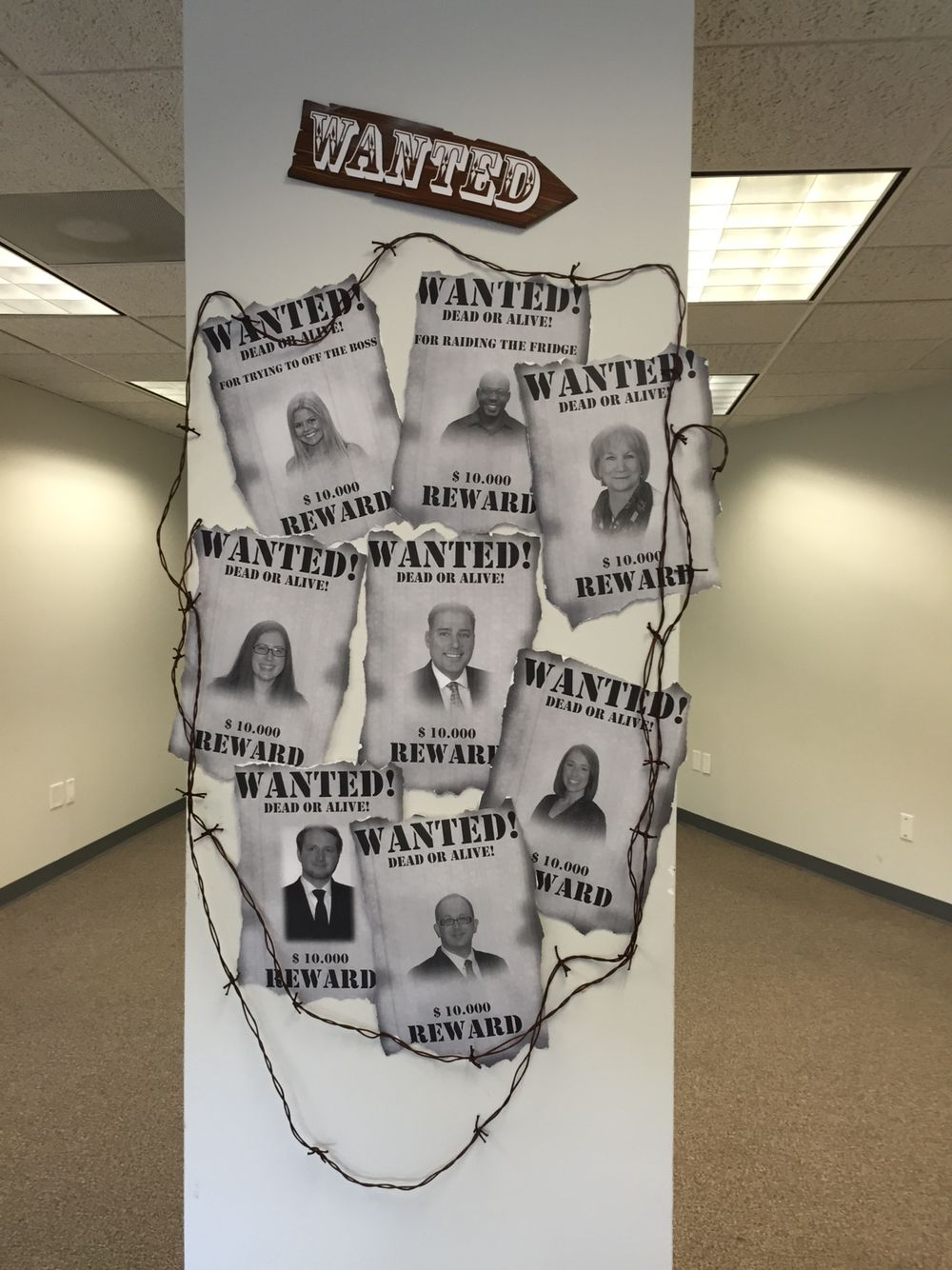 Wanted wall!  A big hit!