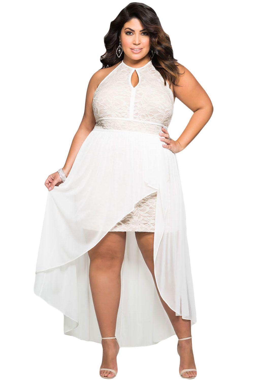 Stylish Lace Special Occasion Plus Size Dress Plus Size Summer Dresses Plus Size Party Dresses Lace White Dress [ 1500 x 1001 Pixel ]