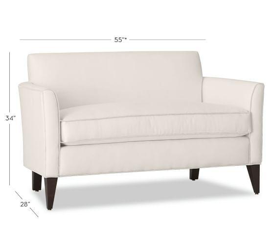 Tremendous Marcel Upholstered Mini Sofa Sofa Furniture Small Sofa Creativecarmelina Interior Chair Design Creativecarmelinacom