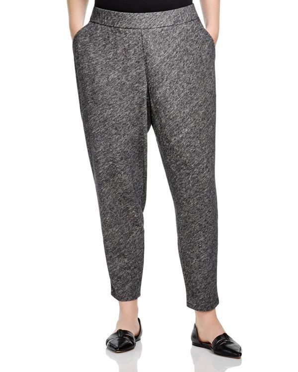Eileen Fisher Plus Tapered Pants