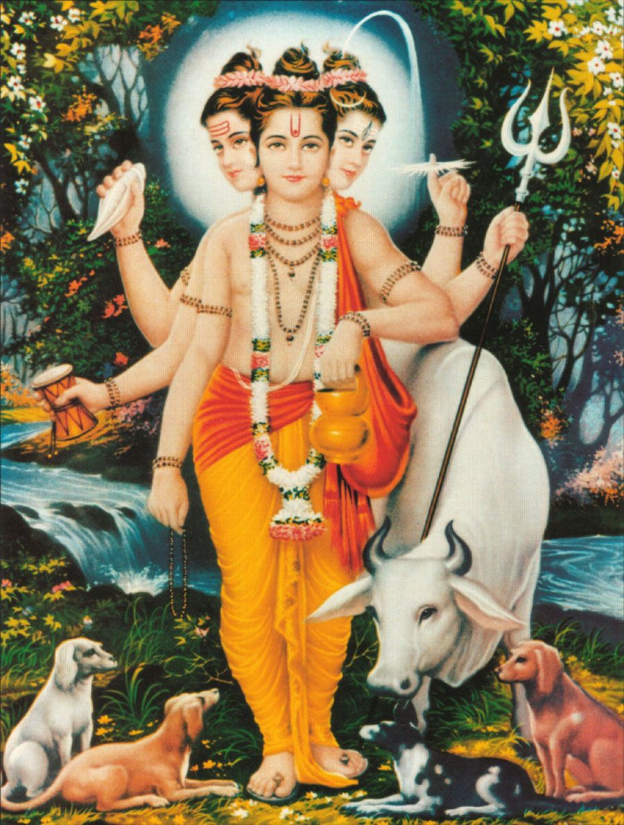 Hindu God Bhagwan Dattatreya