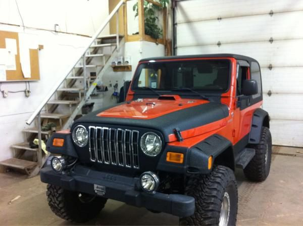 Check Out The Line X On This Jeep This Application Was Done In