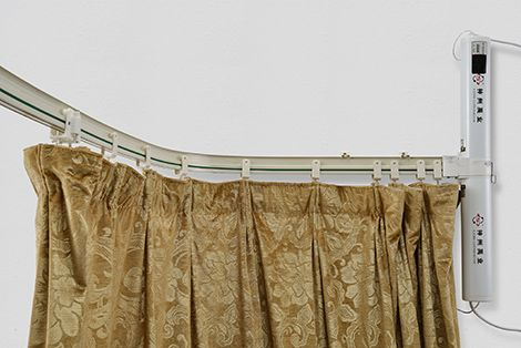 Bendable Motorized Curtain Track Motorized Curtain Curtains
