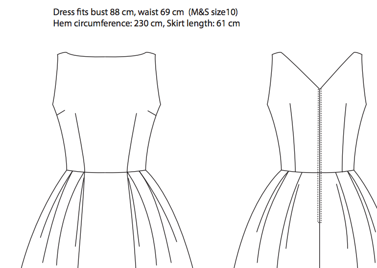 vintage 1960s dress patterns uk | The following is a great design ...