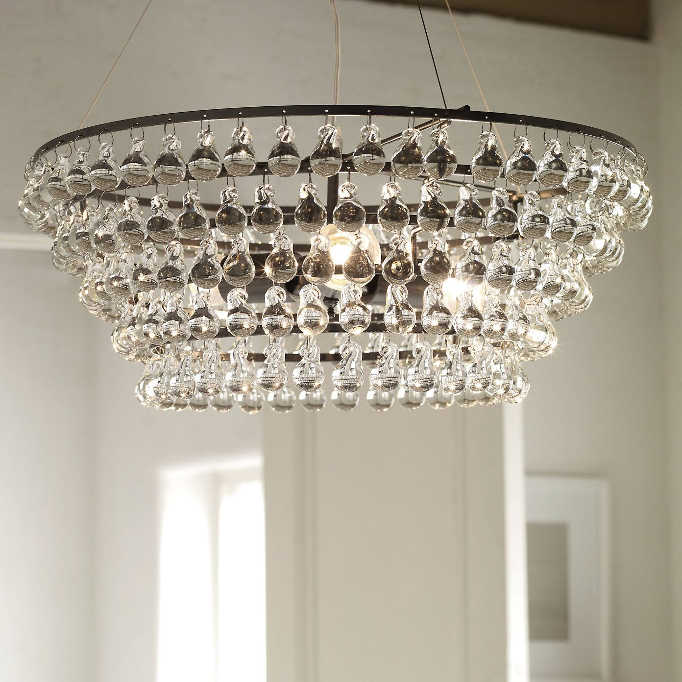 Buy Home Accessories Part - 25: Buy Home Accessories U003e Lighting U003e Solid Glass Orb Ceiling Light From The  White Company