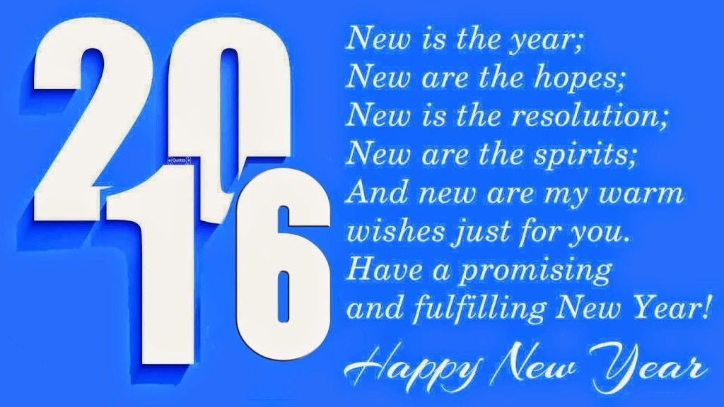 Inspirational Happy New Year 2016 Resolutions Ideas Poems Quotes Posters  Images : Only Some Days Left To Welcome The U201cNew Year Of And It Is Time To  Say Good ...