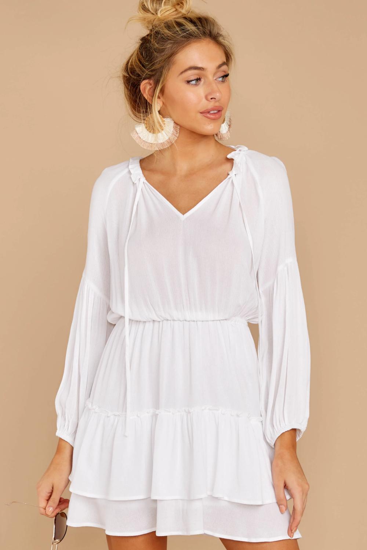Somewhere New White Dress White Flowy Dress Flowy Dress Short Dresses [ 1500 x 1000 Pixel ]