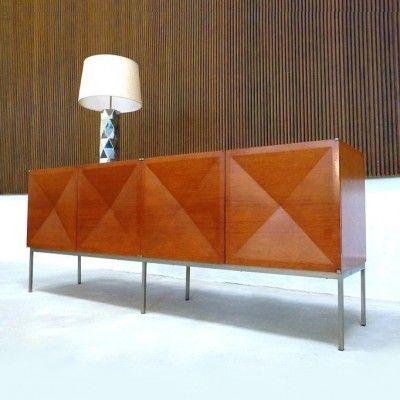 Antoine Philippon And Jacqueline Lecoq 1307 Pointe De Diamant Sideboard For Behr 1960s Deco Mobilier Interieur