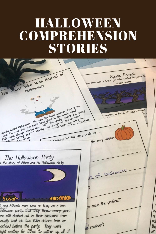 Halloween Reading Comprehension Short Stories Halloween Reading Comprehension Halloween Reading Halloween Reading Lesson [ 1500 x 1000 Pixel ]