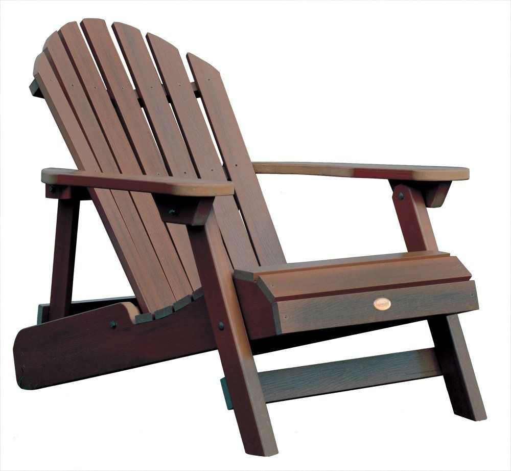 wood patio chairs. Highwood Synthetic Wood Outdoor Furniture - Folding Reclining . Patio Chairs