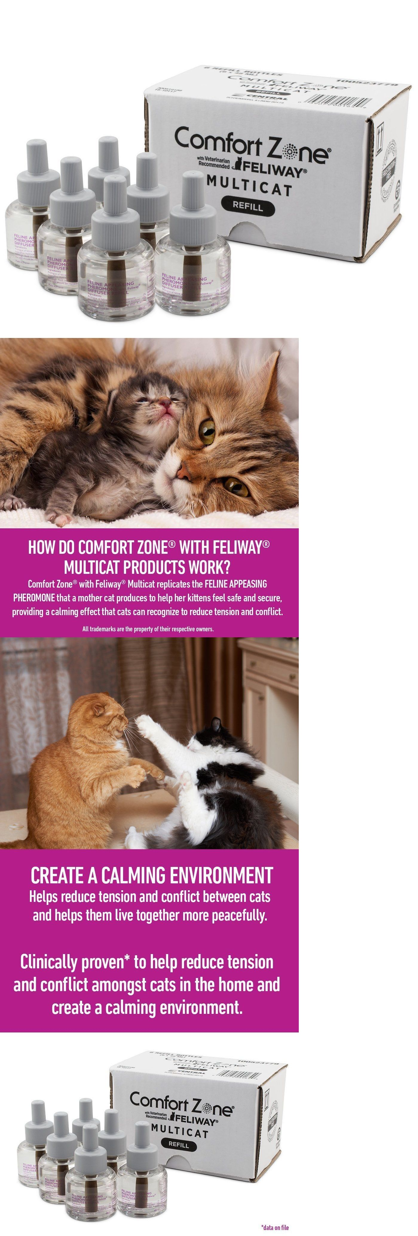 diffuser feliway plug and ins drug comfort pheromone multicat pin refill cat comforter zone sprays calming