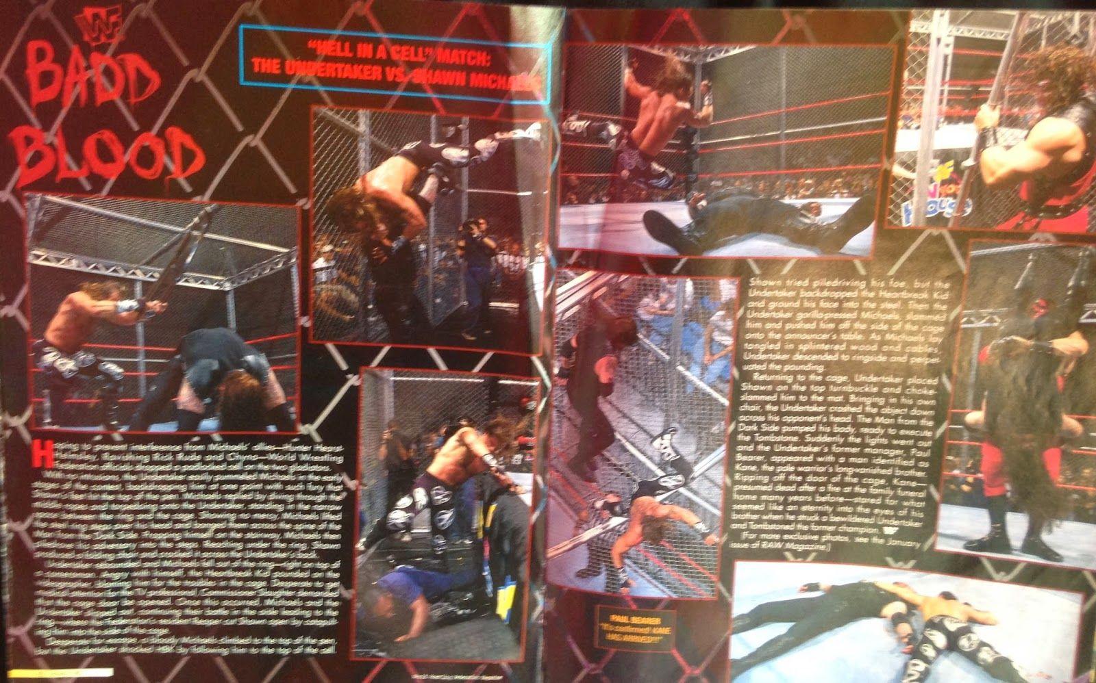 From the loft: WWF Raw Magazine - 1998 ~ Retro Pro
