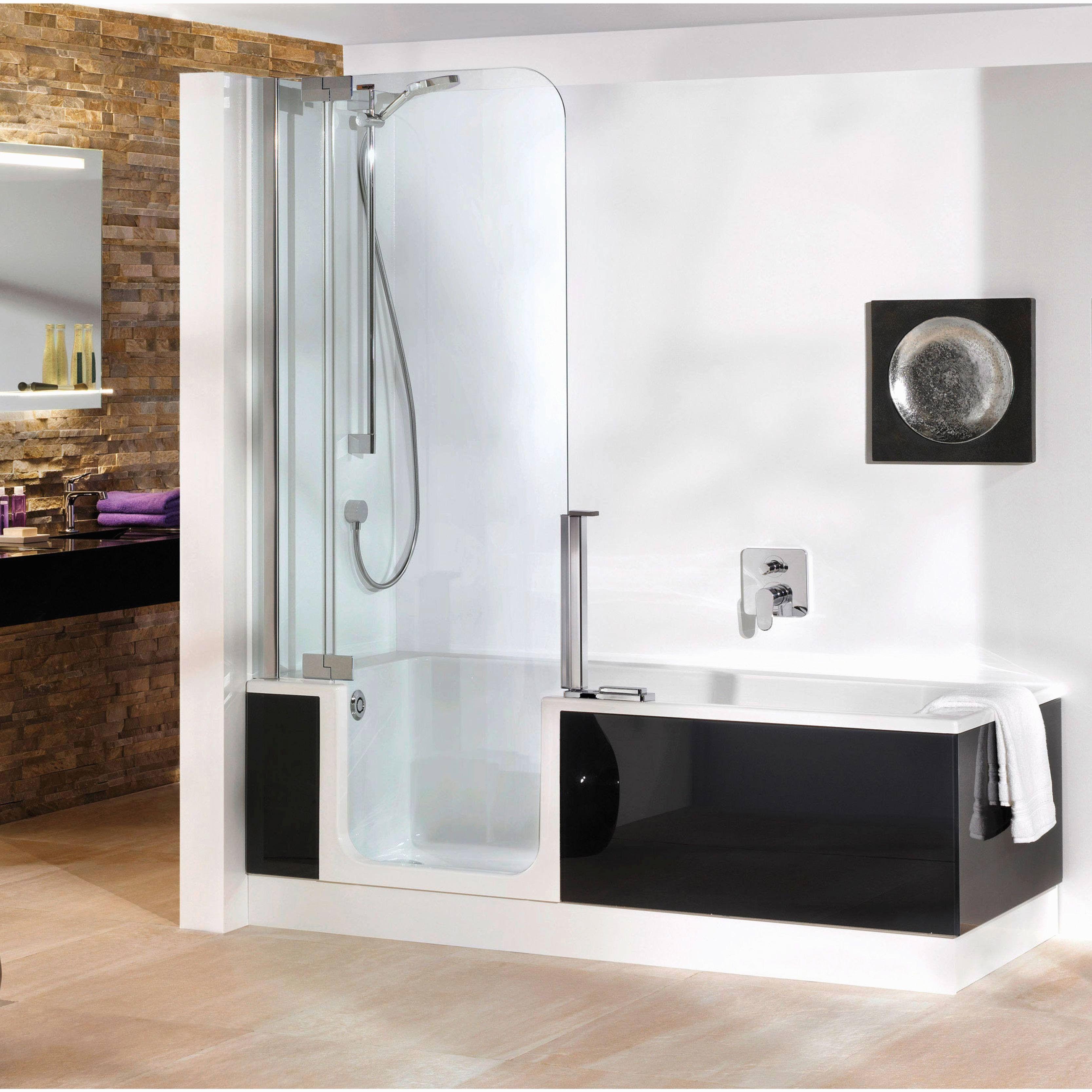 Fresh Duo Kinedo Baignoire Prix Walk In Shower Bath Shower Bath Elegant Bathroom