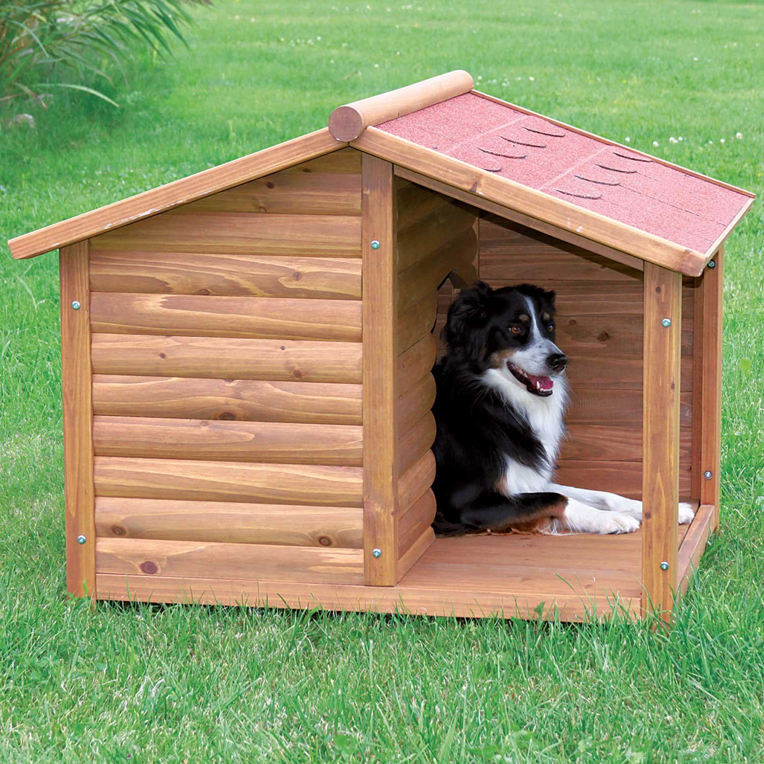 Trixie Natura Log Dog House 39 25 L X 33 25 W X 35 25 H