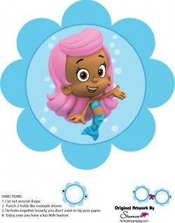 Free} Printable Bubble Guppies Wall Decor 2 | Things I love ...