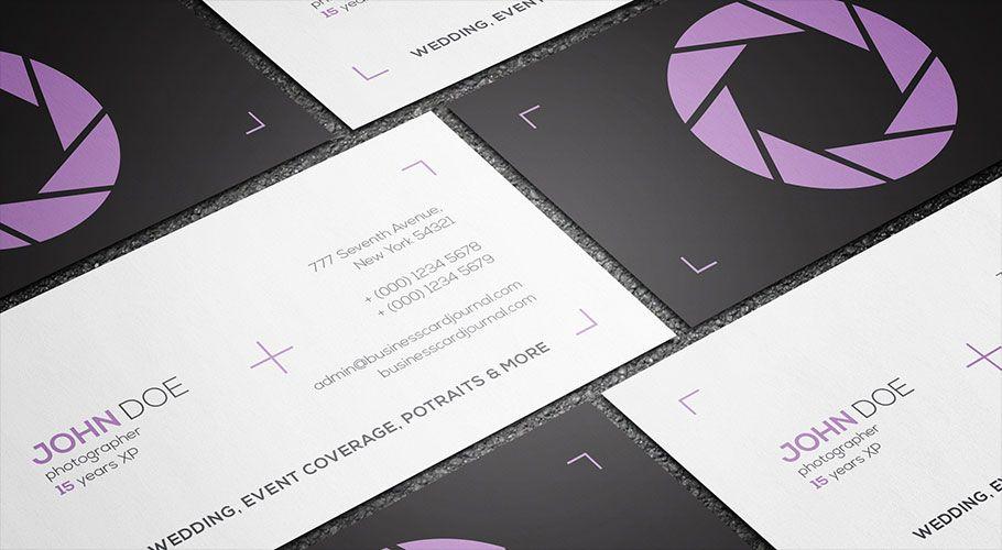 Free minimalist style photographer business card template more at free minimalist style photographer business card template more at designresources wajeb Gallery