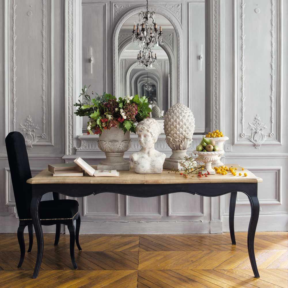 table manger extensible en manguier 8 personnes l180 deco pinterest maison du monde. Black Bedroom Furniture Sets. Home Design Ideas