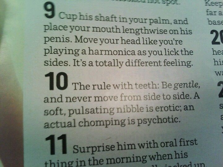tips of blow job So what makes a good one?