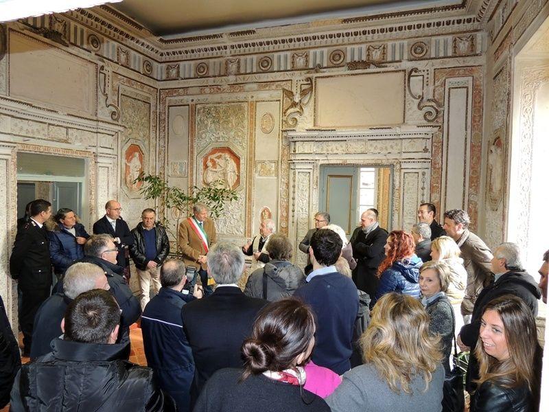 Città della Pieve, torna a risplendere il secondo piano di Palazzo Fargna