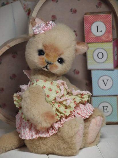 Missy kitten by skye rose bears bear pile stuffed cats missy kitten by skye rose bears bear pile altavistaventures Images