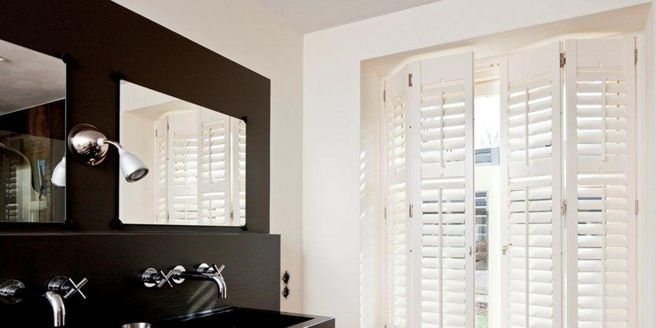 De huiscollectie shutters van Ambiance biedt een oplossing voor ...
