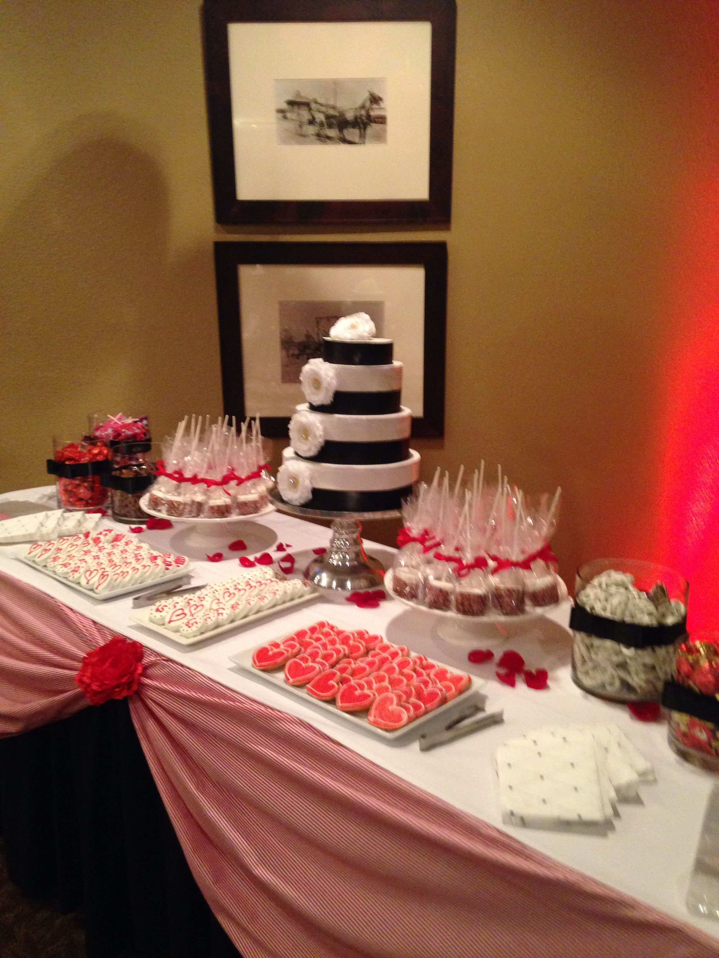 Candy Table 40th Wedding Anniversary 40th Anniversary Party