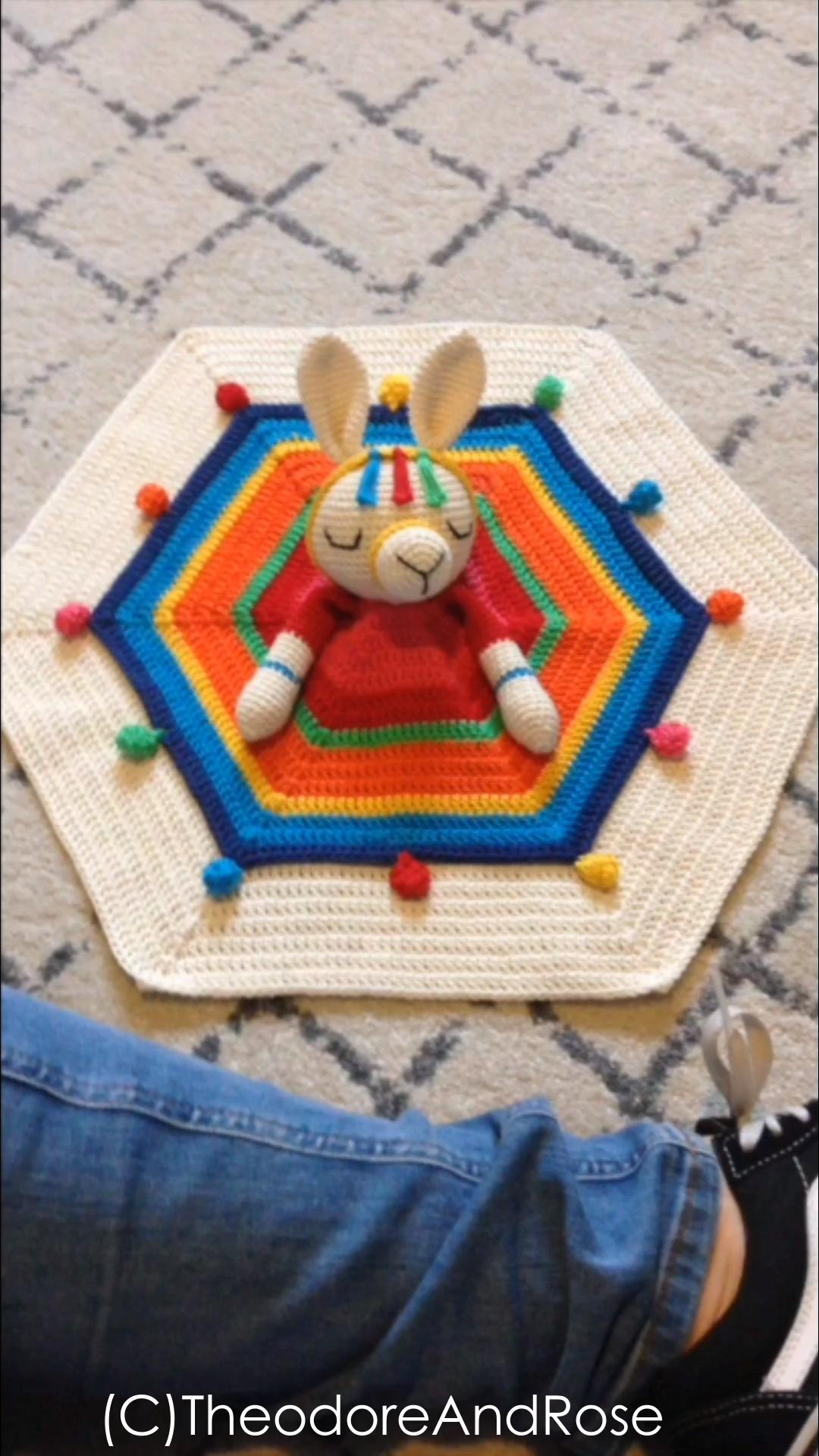 Photo of Crochet Unicorn Lovey Pattern