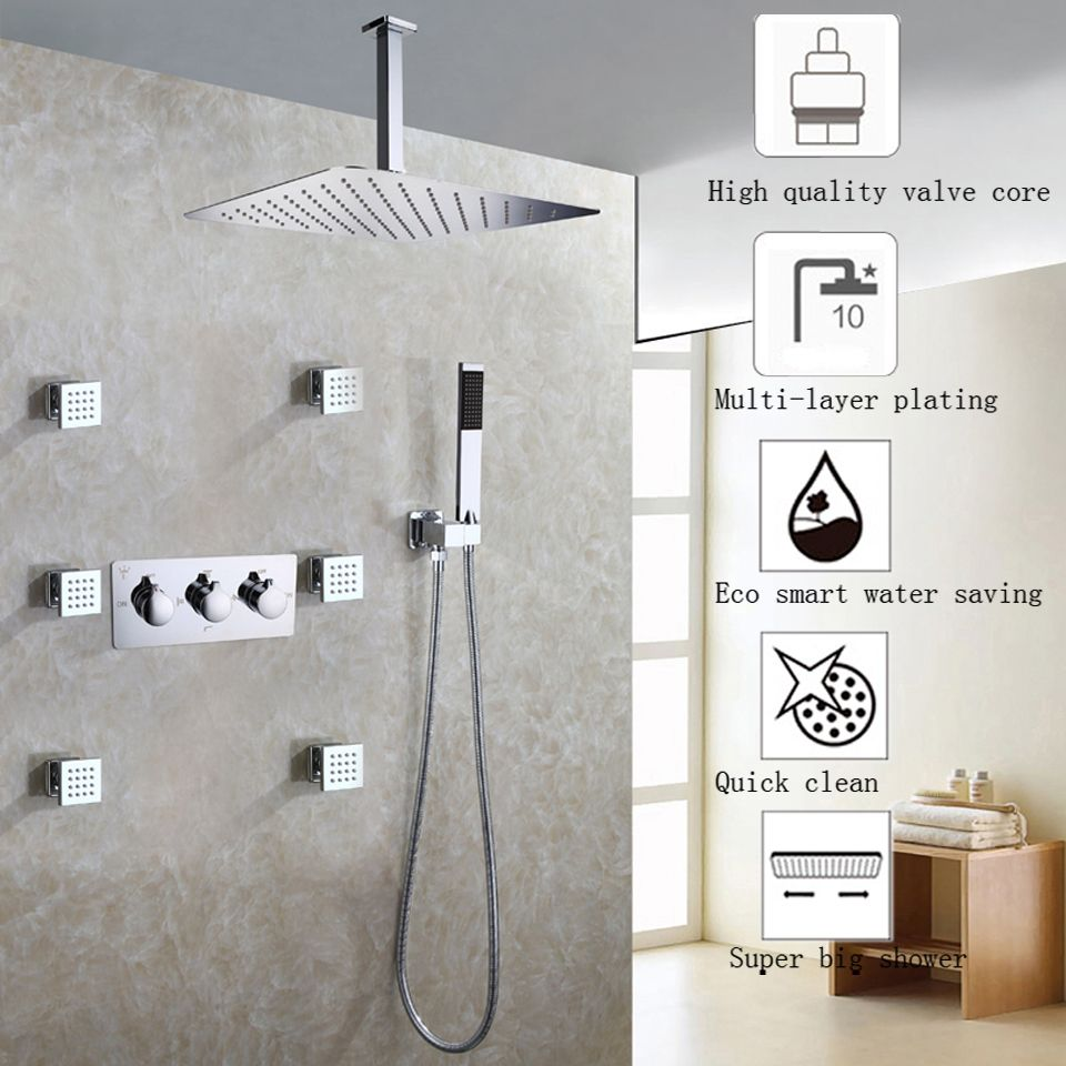 Small Crop Of Ceiling Shower Head