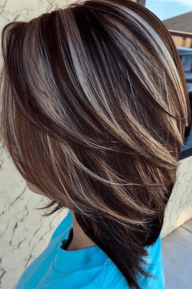 Short Hair Highlights Hair Color Ideas For Short Hair 2020 Ifashionguy Brunette Hair Color Hair Color Ideas For Brunettes Short Short Hair Highlights