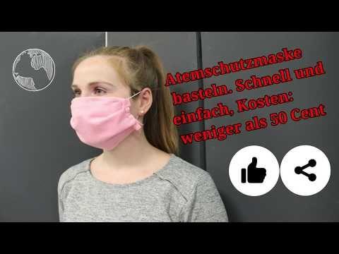 Photo of Atemschutzmaske selber machen, guenstig und schnell