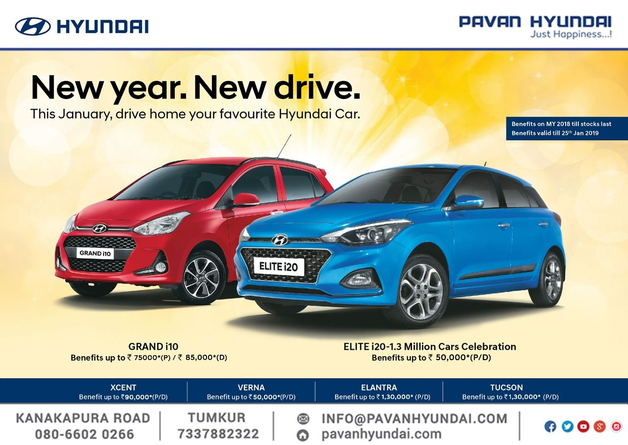 Start your New Year with a New Drive! Get exciting offers