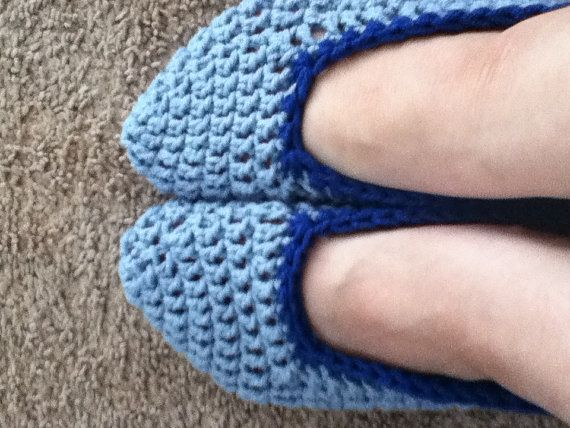 Handmade Crochet adult slippers booties Made by CathysCreationsNC, $15.00