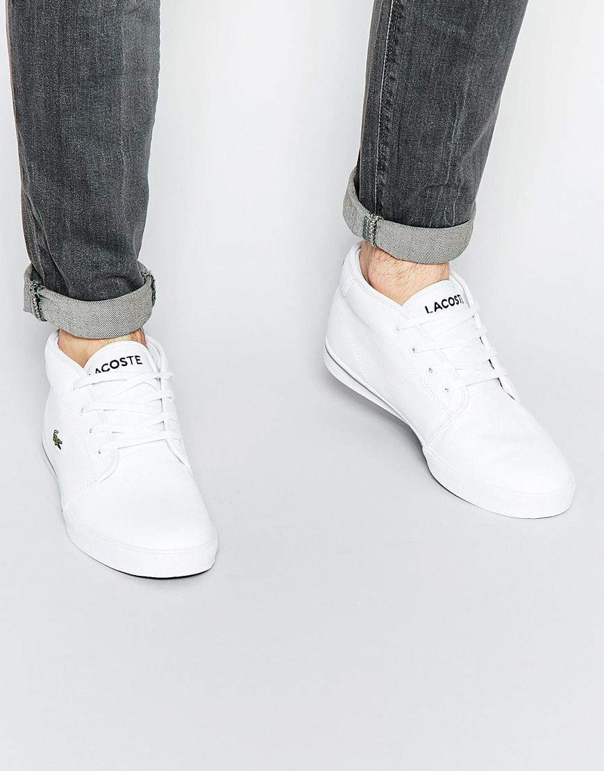 Lacoste Ampthill Chukka Boots At Asos Com