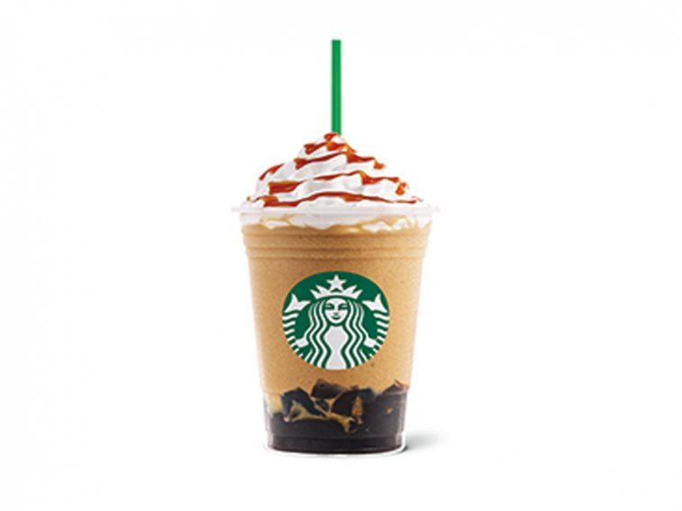 Caramel Coffee Jelly Frappuccino — UK