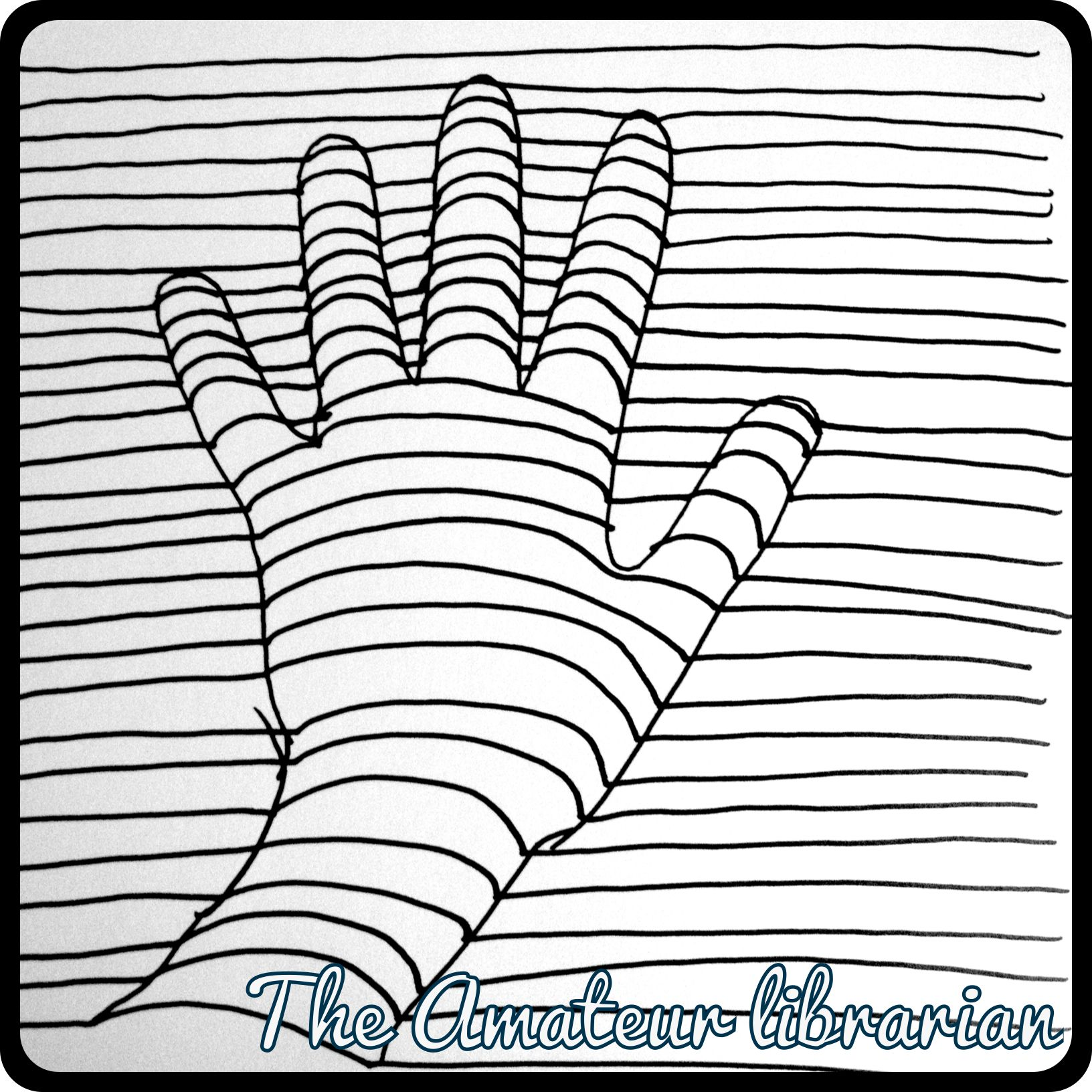 optical illusions coloring pages # 7