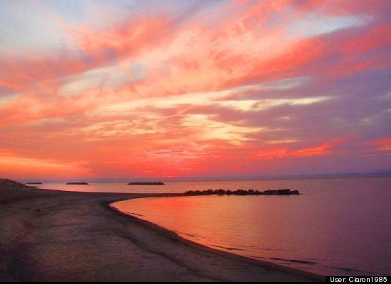 Presque Isle Peninsula Beach, Erie, PA
