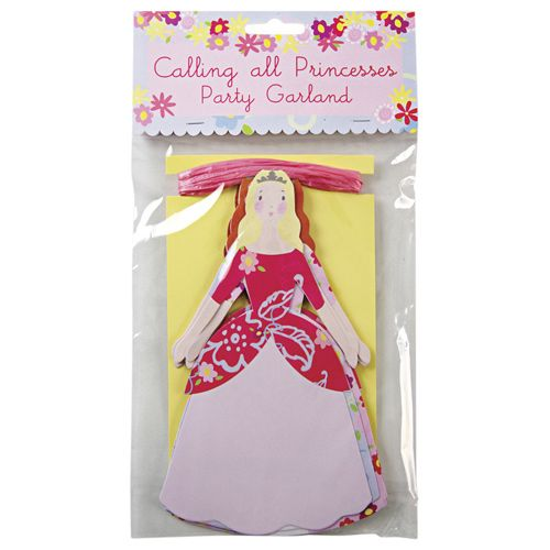 Princess Party Garland by Beau-coup $9.00
