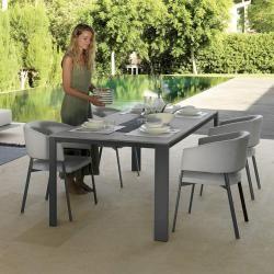 Photo of Gartentisch mit Zementfaser Tischplatte Eden Made in Italy Talenti